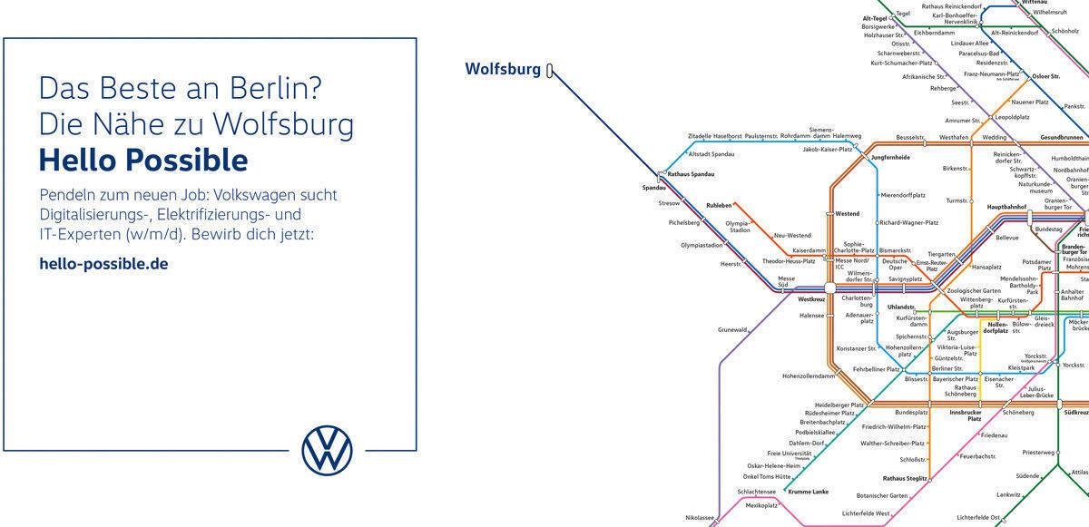 VW zielt mit neuer Recruiting-Offensive auf Digital-Talente