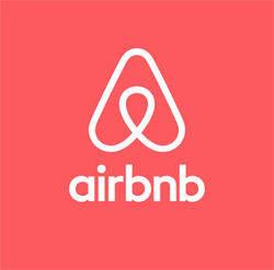 Das Logo von Airbnb hatte viel Spott abbekommen.