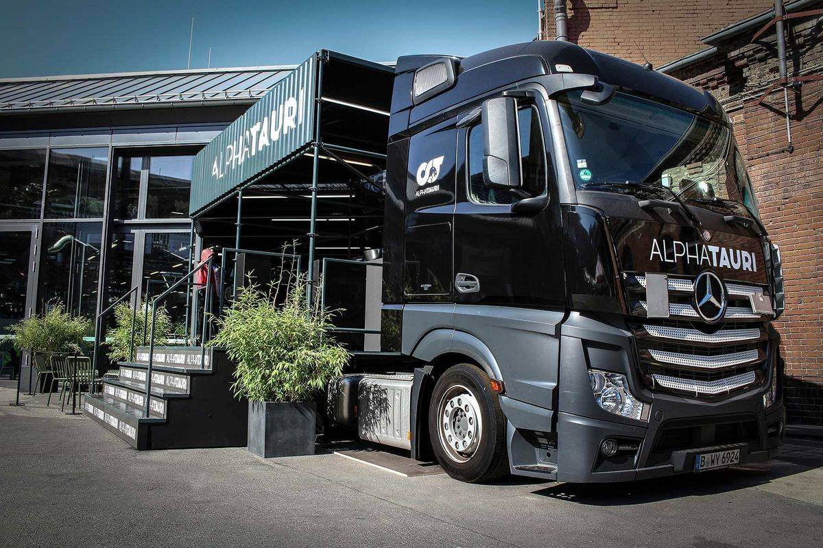 Alpha Tauri Mobile Innovation Lab Truck