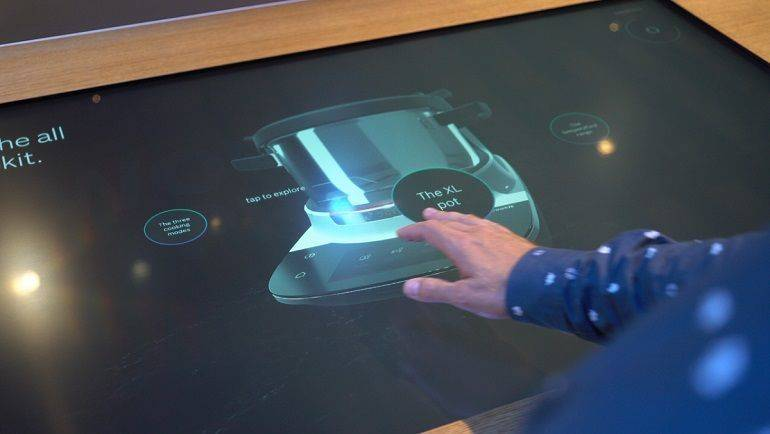 Bosch-Touchtable