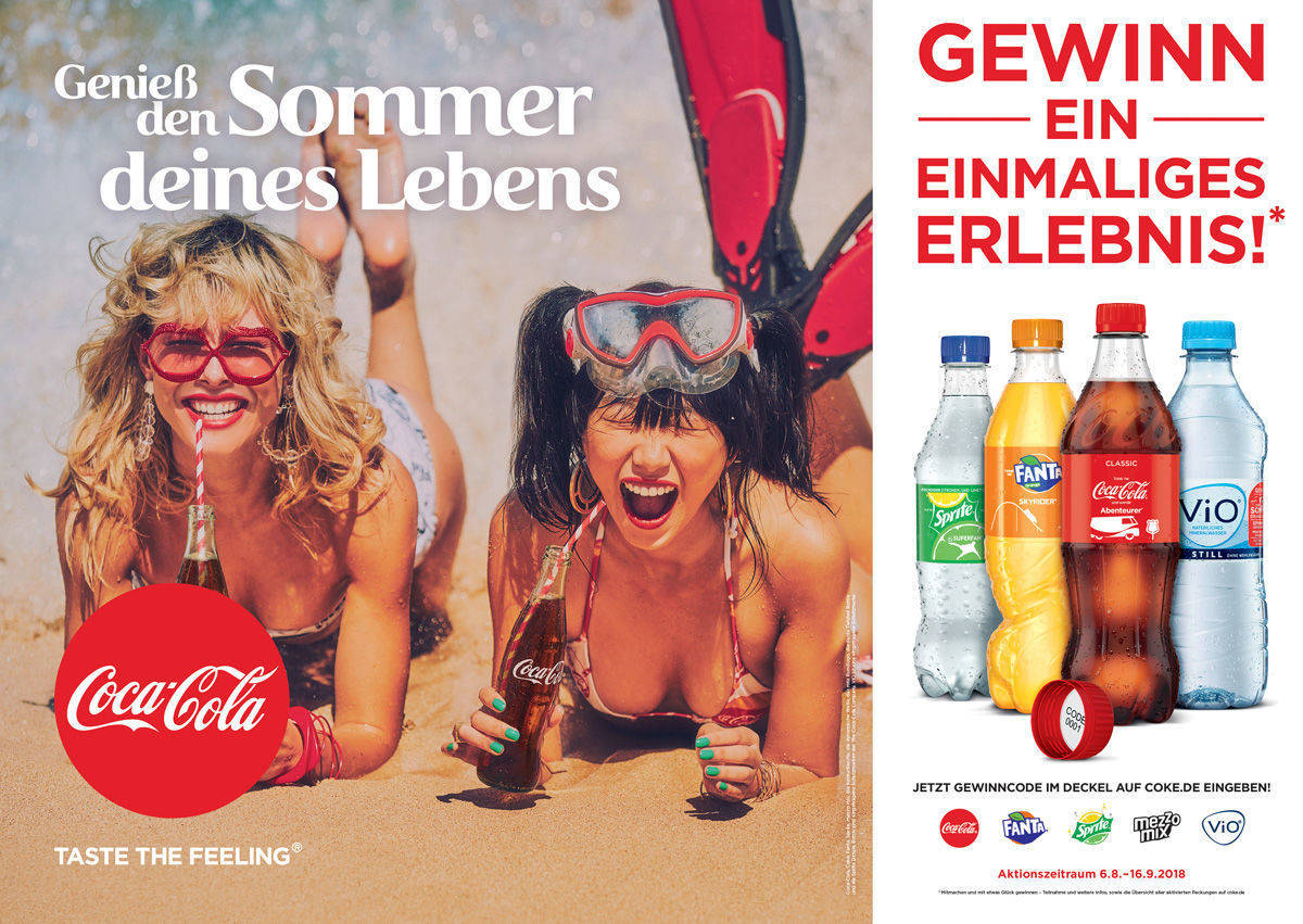 Das Out-of-Home-Motiv zur Sommer-Promotion.