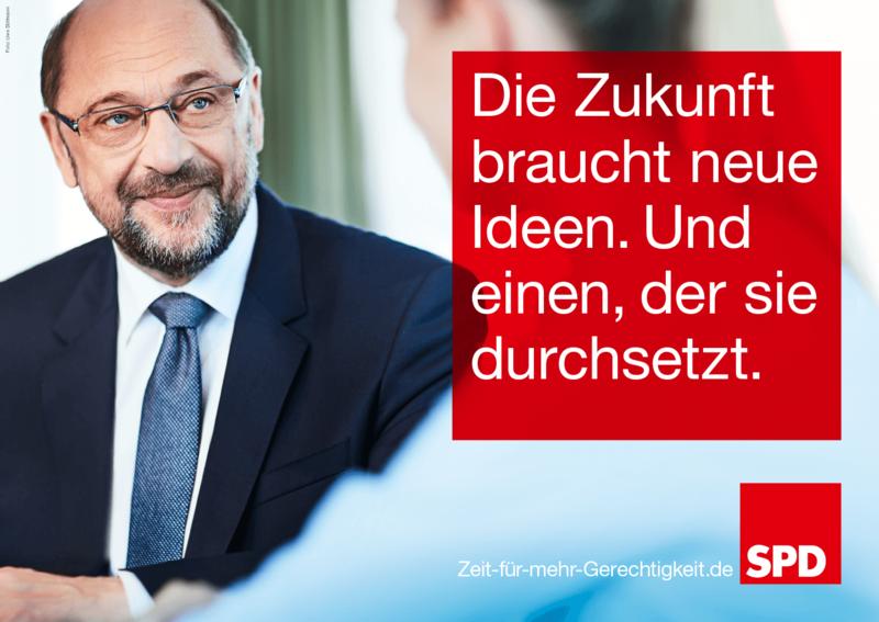 Martin Schulz Plakat