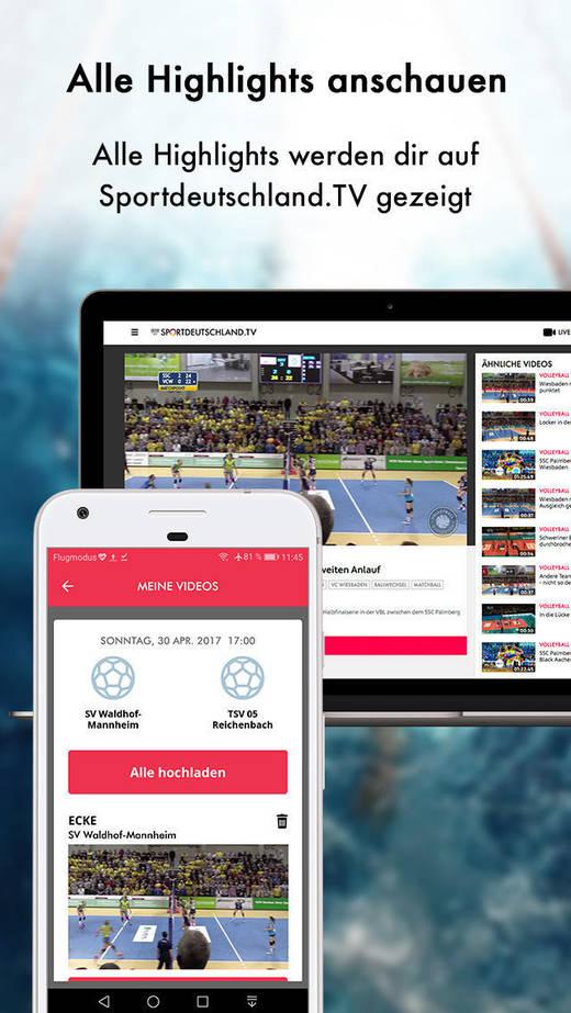 """Die """"Yousport""""-App ist gratis und macht Sportfans das Filmen leicht."""