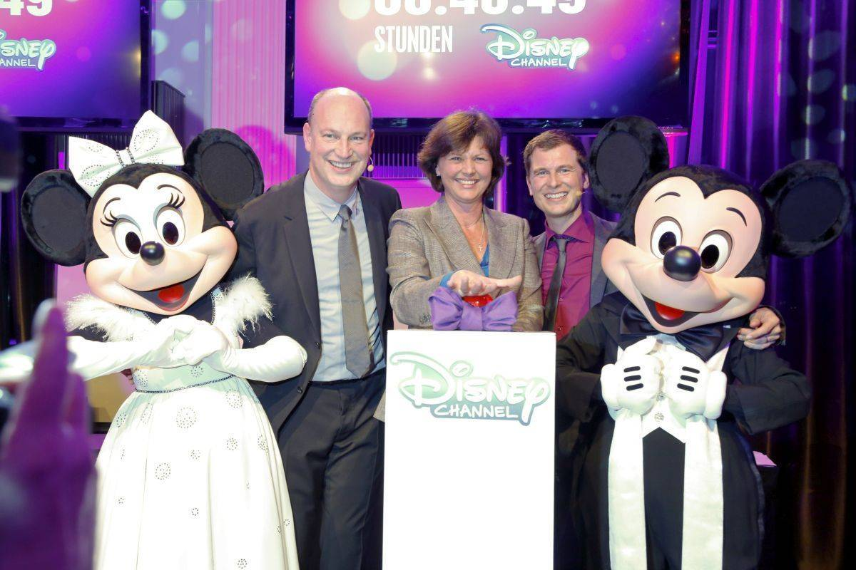 Launch des Disney Channels
