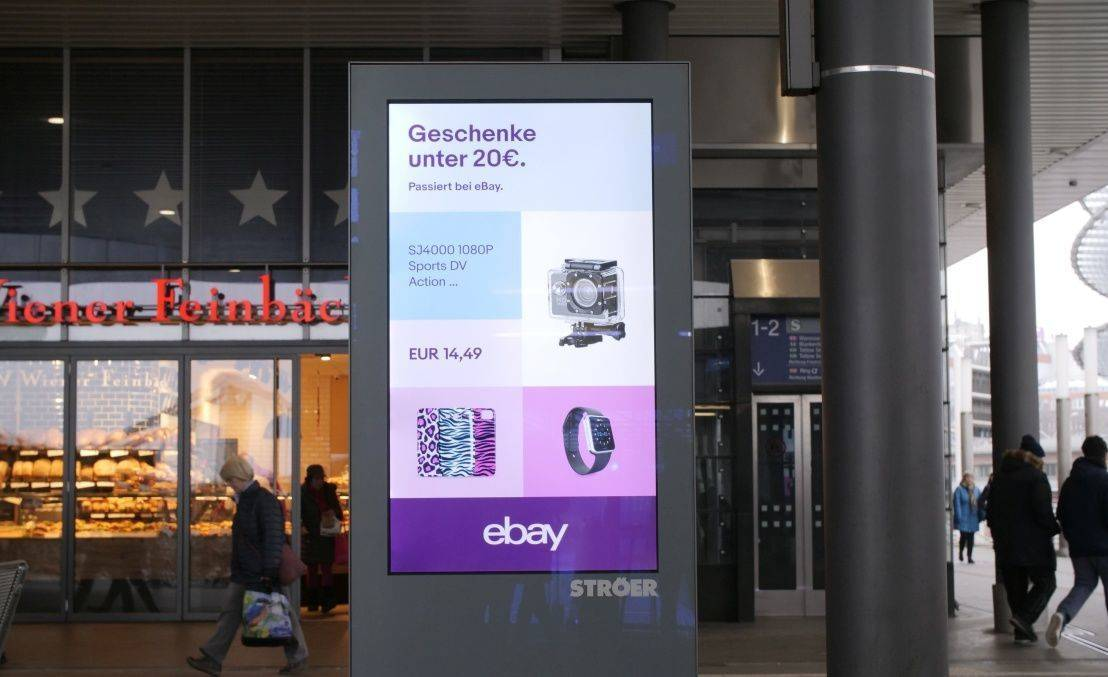 Shortlist Programmatic/Data Ebay Programmatic OOH