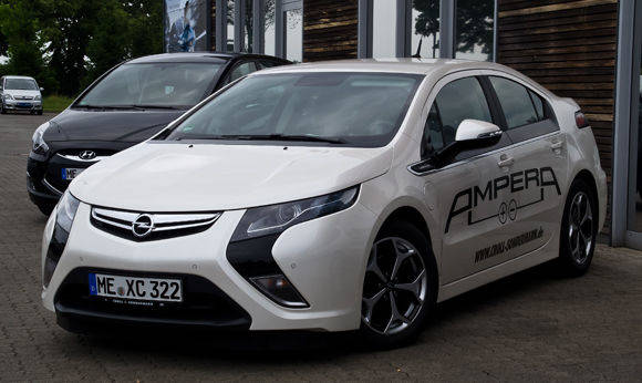 Opel Ampera, 1. Generation. Foto: Creative Commons / Wikipedia/ M93