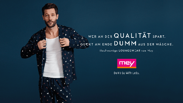 die neue mey kampagne von jung von matt w v. Black Bedroom Furniture Sets. Home Design Ideas