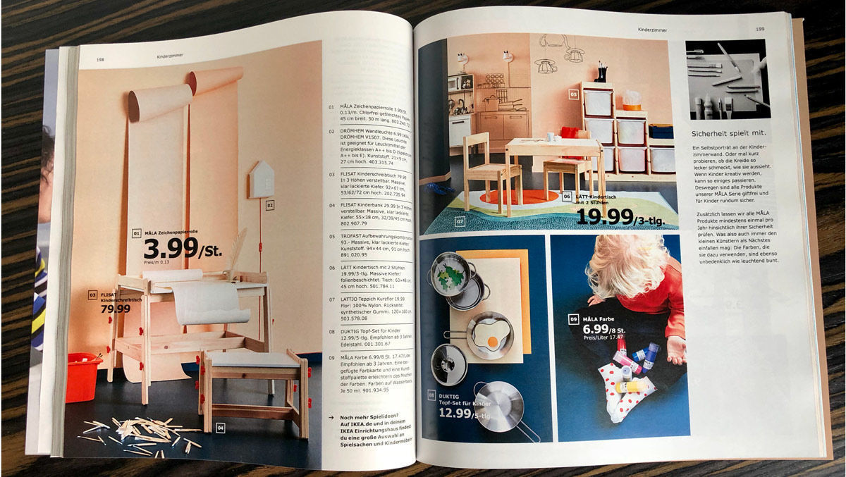 neue strategie das steckt hinter dem aktuellen ikea katalog w v. Black Bedroom Furniture Sets. Home Design Ideas