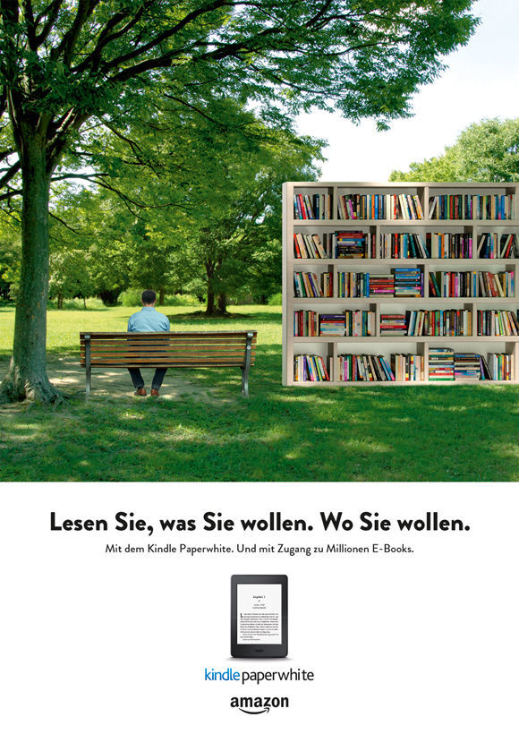 Kindle-campaign, motif (Fig.: Dieckert  Schmidt)