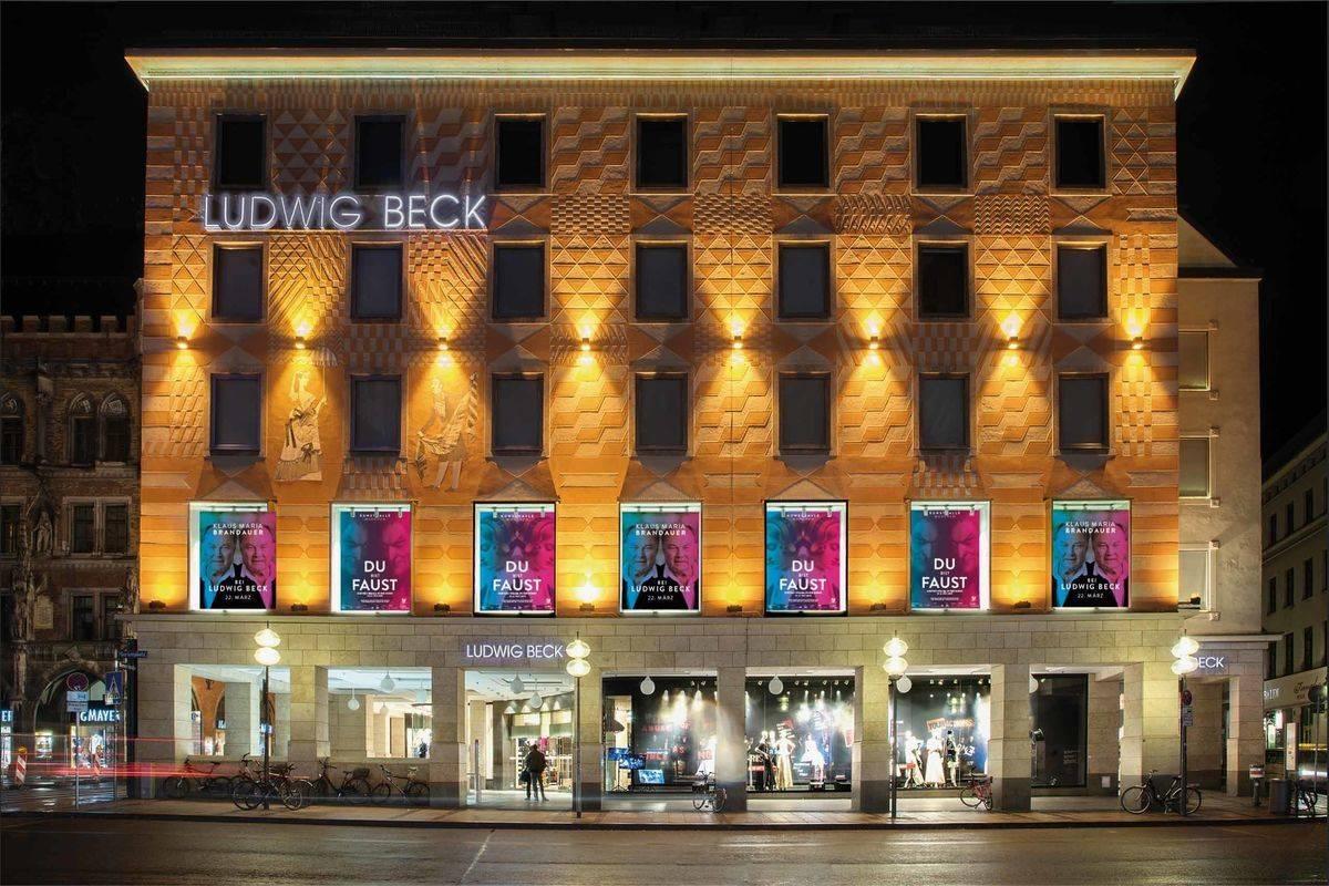 c392317ab3b866 Kultursponsoring  Ludwig Beck Schaufensterinstallation zu Faust