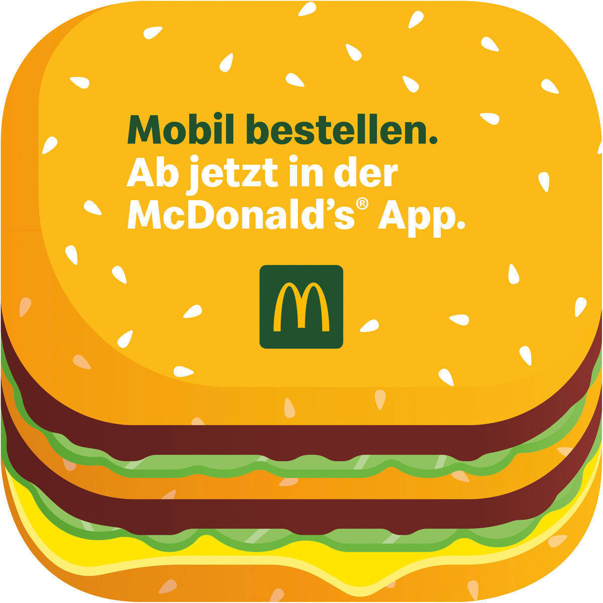 """Mobile Order & Pay"": Das neue Feature der McDonald's-App."