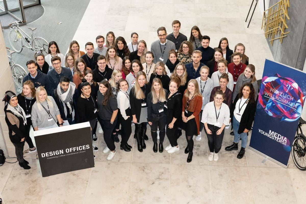 Media Youngsters 2020 - Teamfoto Düsseldorf