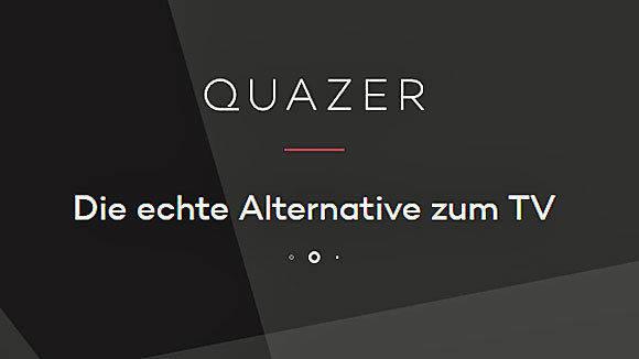 Screenshot Quazer.