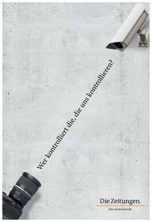 Silber-Anzeige des Jahres: Überwachungskamera vom Kreativteam bei Dieckertschmidt.