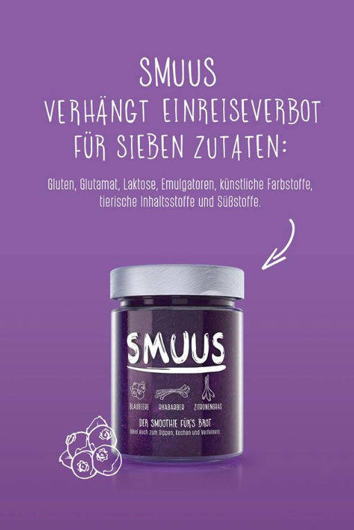 Smuus-Motiv Einreisestopp