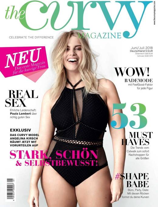 """""""The Curvy Magazine"""" erscheint 2018 dreimal, ab 2019 sechsmal jährlich."""