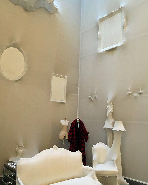 """In diesem Showroom von Jean Paul Gaultier in Paris fand eines der Vorbereitungstreffen mit dem """"WamS""""-Team statt (Foto: Axel Springer)."""