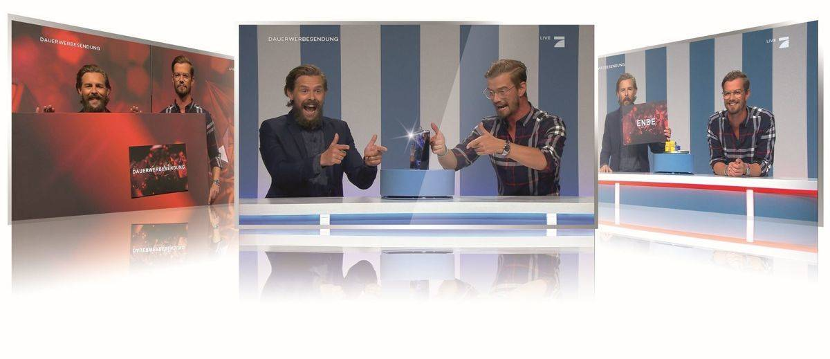 Joko und Klaas in Aktion
