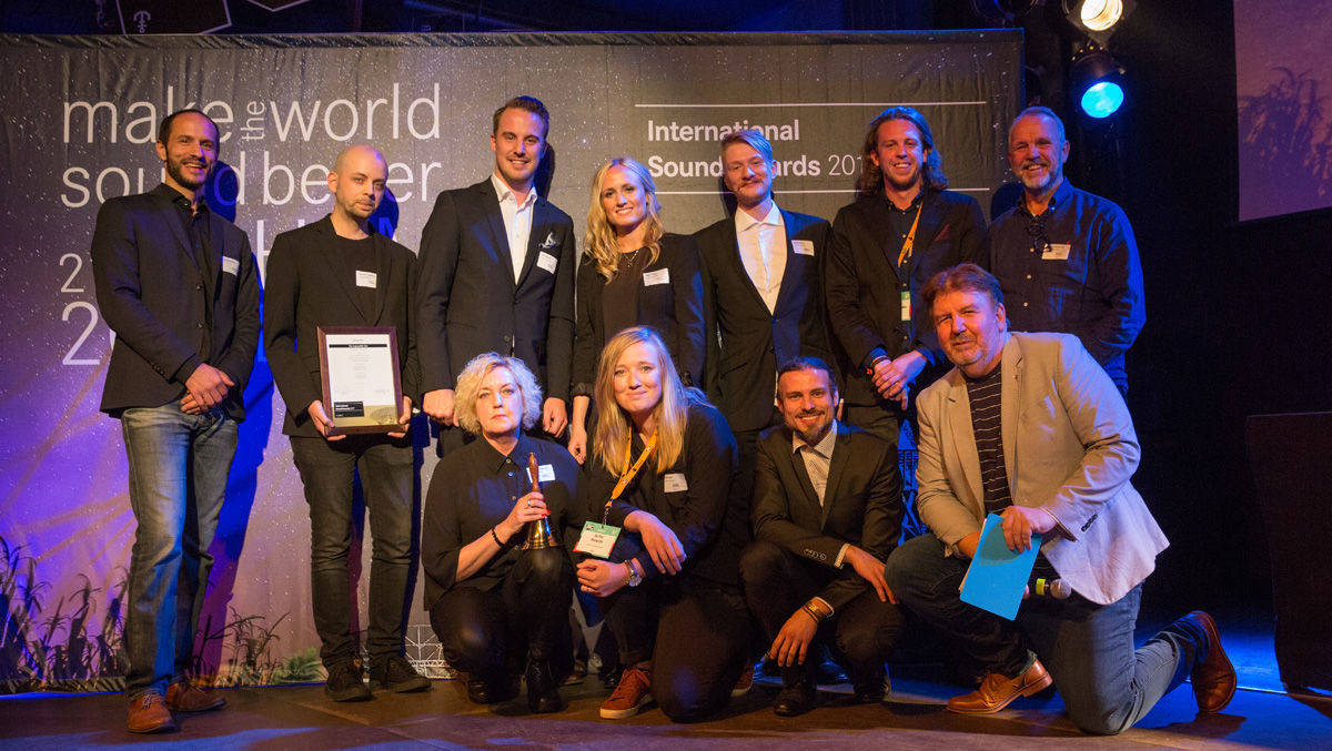 Die Gewinner der ersten International Sound Awards.