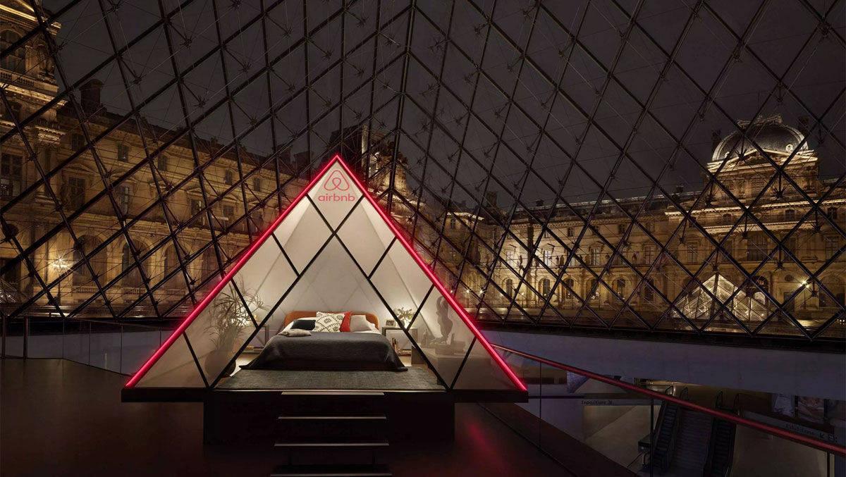 Kreation des Tages: Airbnb verlost eine Nacht mit Mona Lisa