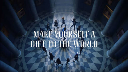"Neue Kampagne von Equinox: ""Make Yourself a Gift to the World""."