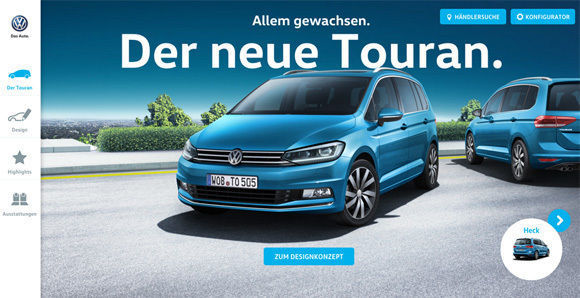 grabarz partner startet kampagne f r neuen vw touran w v. Black Bedroom Furniture Sets. Home Design Ideas