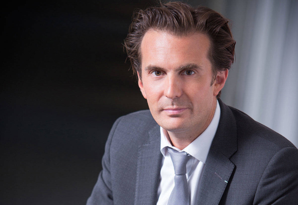 Yannick Bolloré, Chairman & CEO der Havas Group.