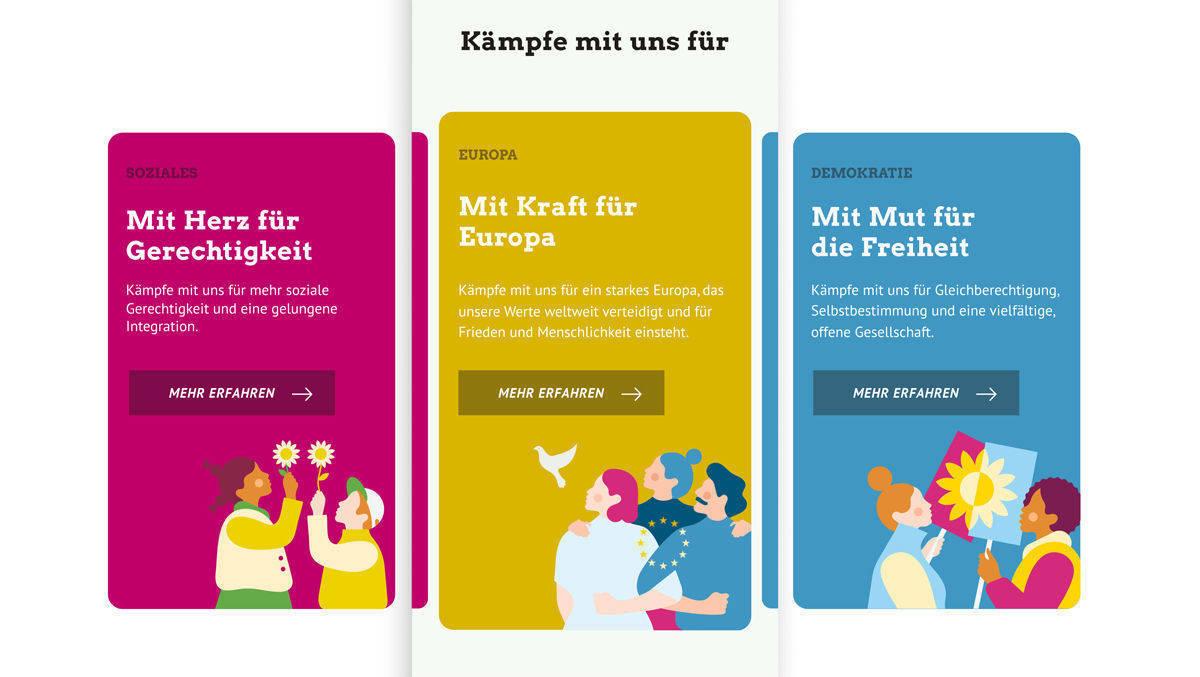 Relaunch: Edenspiekermann überarbeitet Online-Auftritt grüne.de