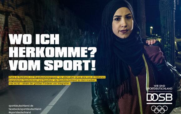 Zeina Nassar Ist Boxerin Und War In Den Jahren 2014 2015 Berliner Jung Von Matt Deutsches Wohnzimmer