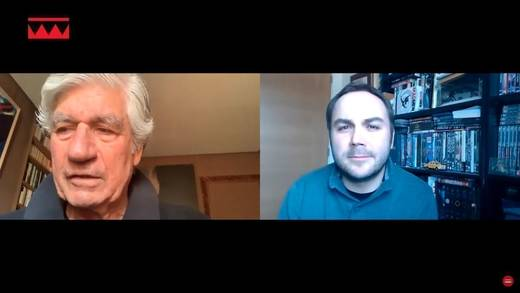 Maurice Lévy im Video-Interview mit einem The-Drum-Redakteur.