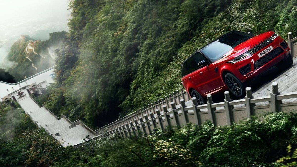 Mit Dem Range Rover Zum Himmelstor W Amp V