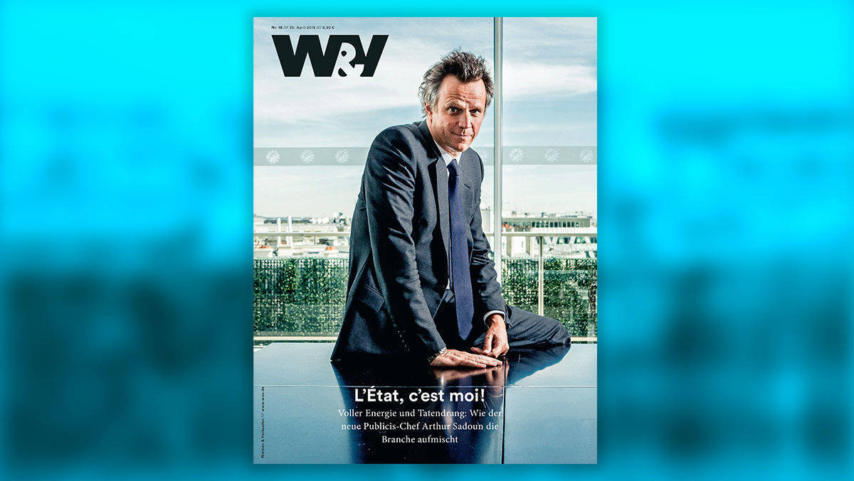 Publicis-CEO im exklusiven Interview mit W&V.