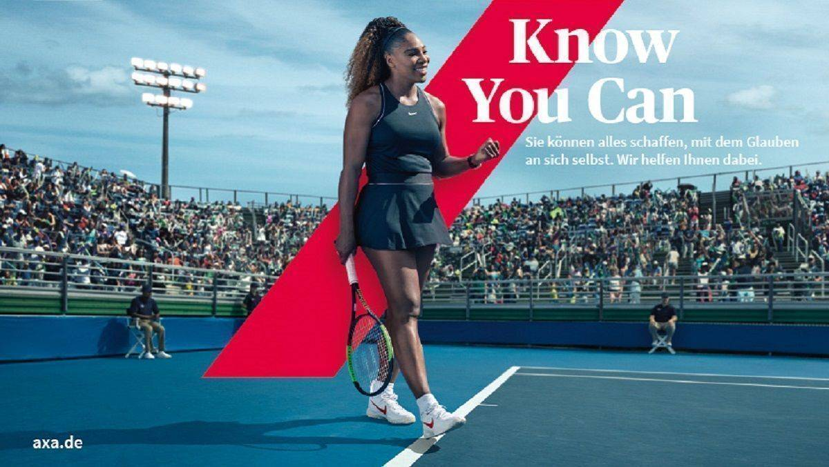 """Know you Can"" ist der Claim der neuen Axa-Kampagne."