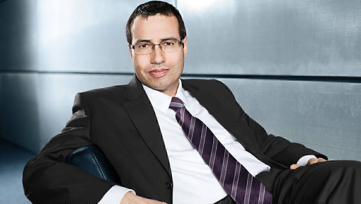 Frank-Michael Schmidt, der CEO der Scholz & Friends Group.