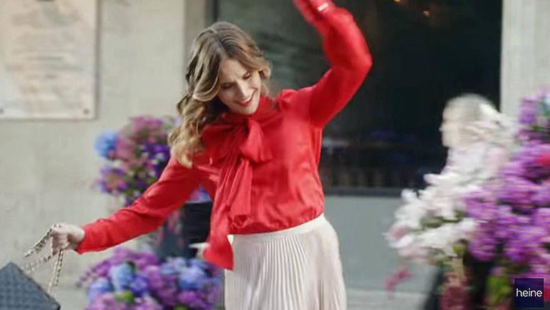29dfa337a0ca1f Feminine Mode steht im Mittelpunkt der neuen Markenausrichtung von Heine.