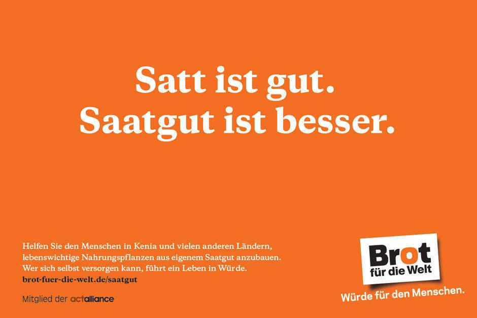 Brot Für Die Welt Kampagne