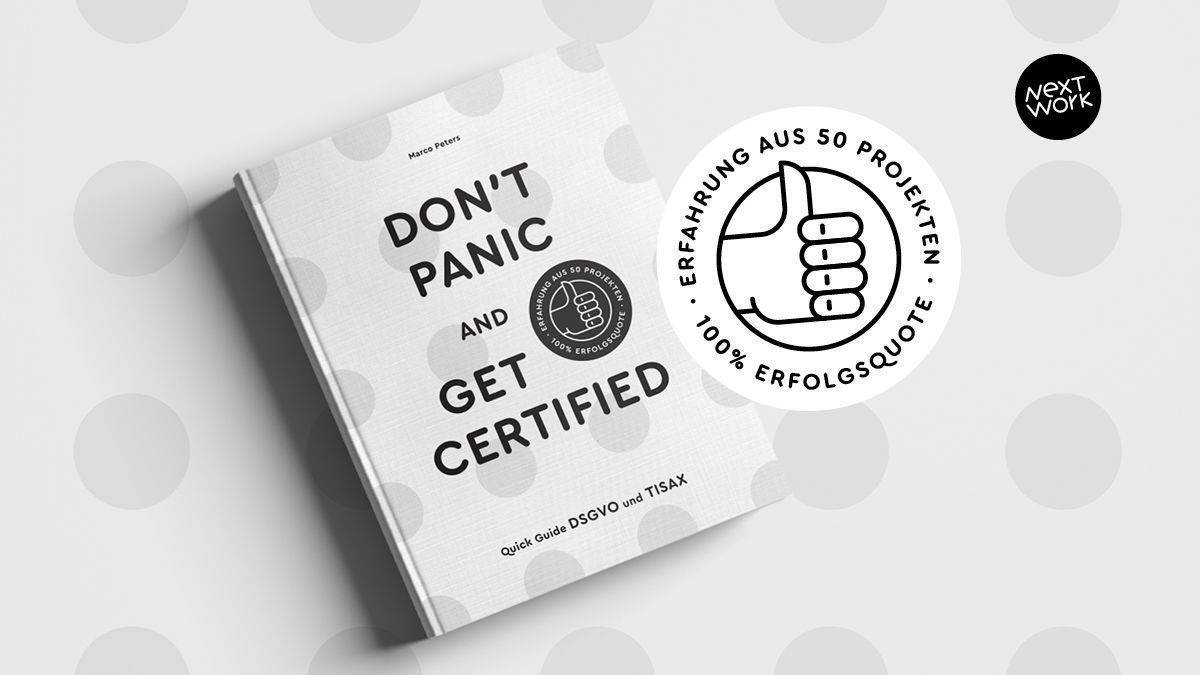 "Quick-Guide ""Don't panic and get certified"" von Marco Peters"