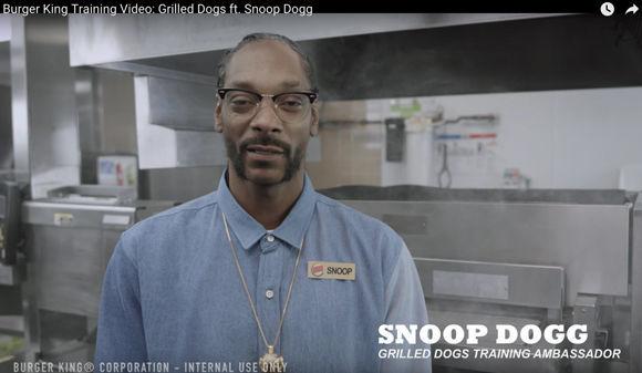 snoop dogg und das perfekte trainings video f r burger king w v. Black Bedroom Furniture Sets. Home Design Ideas