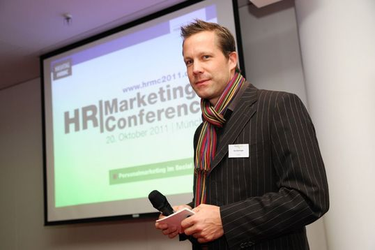 Referierte zu Recruiting 2.0 und Social Media: Kai Deininger, LinkedIn.