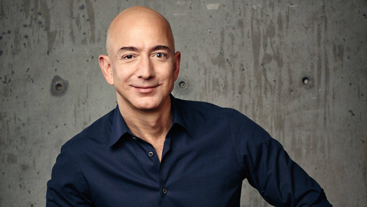 Amazon-Chef Jeff Bezos.