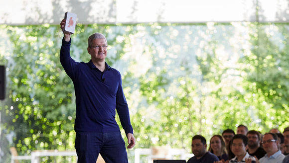 Apple-Chef Tim Cook.