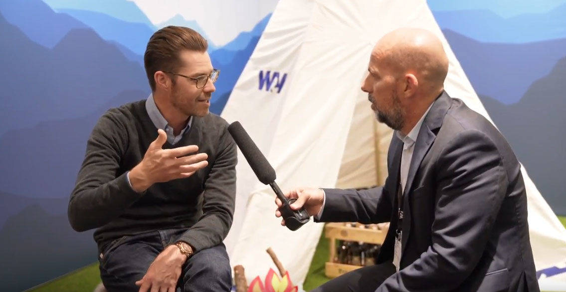 W&V-Chefredakteur Holger Schellkopf im Gespräch mit Jim Squires, Head of Global Business Instagram.