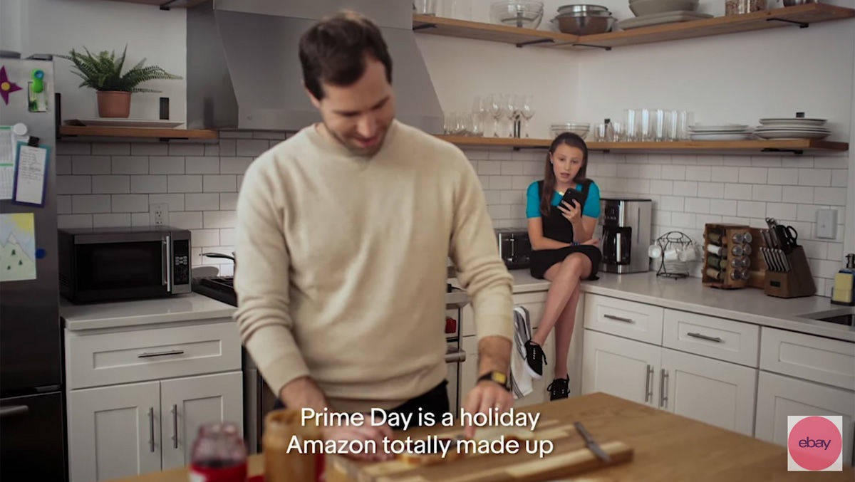 Kreation des Tages: Ebays Alexa stichelt gegen Amazon