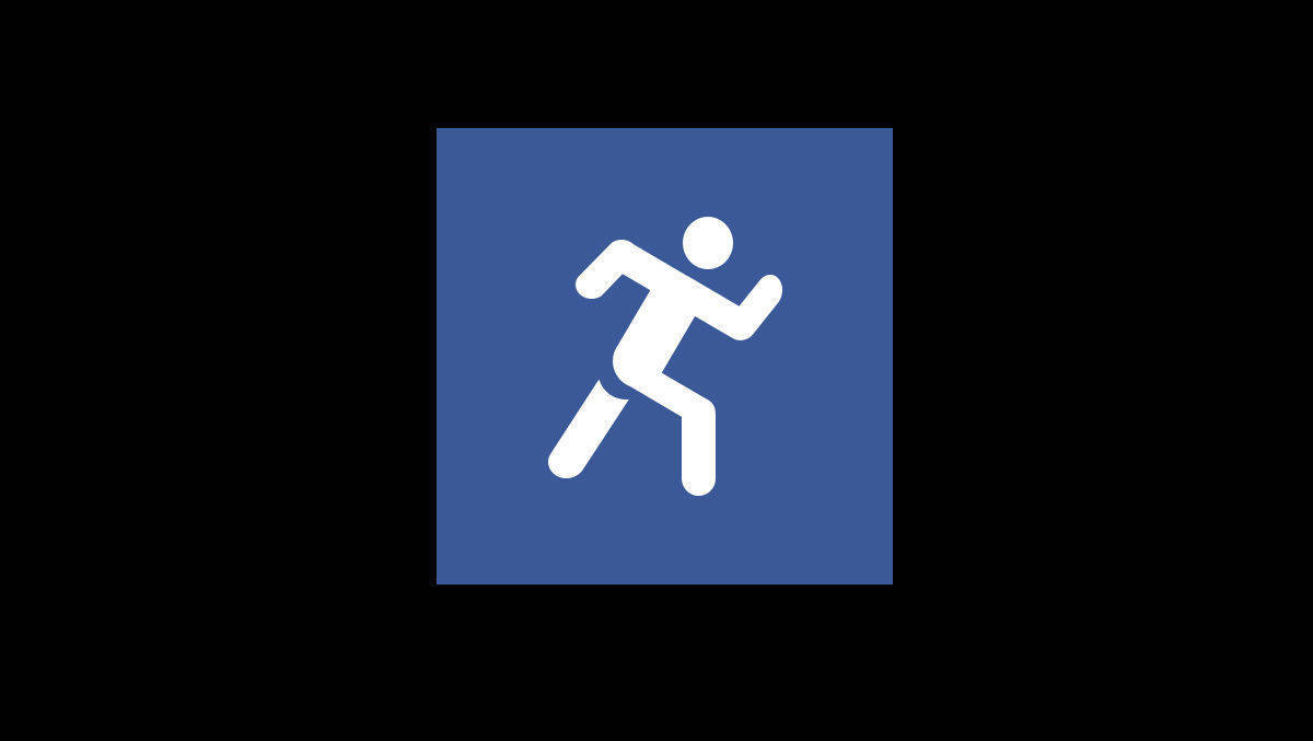 """Sports on Facebook"" - das Logo von Facebooks Sportinhalten"