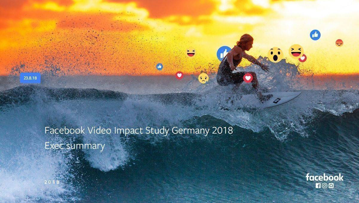 Facebook Video Impact Study Germany 2018