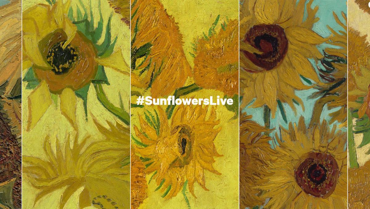 Funf Museen Auf Drei Kontinenten Bringen In Der Digitalen Ausstellung Erstmals Die Sonnenblumen Serie Von