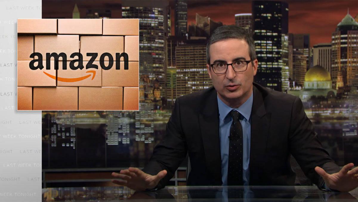 John Oliver rechnet mit Amazon ab