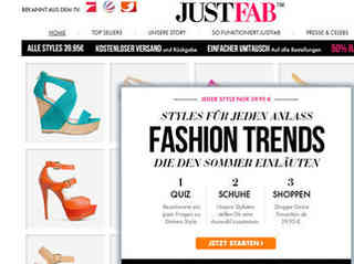 JustFab expandiert in Europa