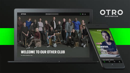 """Welcome to our other club"": Fußballstars nutzen Otro als Storytelling-Plattform."