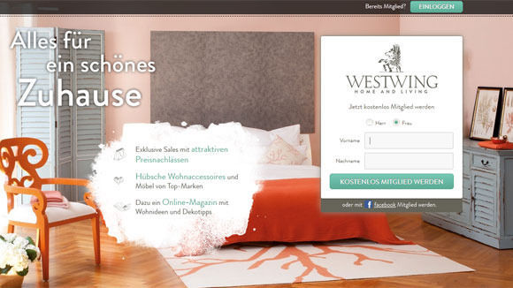 w v rocket internet macht sich im m bel gesch ft breit. Black Bedroom Furniture Sets. Home Design Ideas